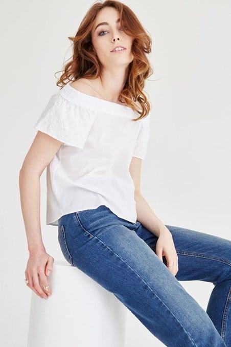 Yazlık Bluz Modelleri 2017